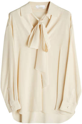 Chloé Silk Blouse with Pussy Bow
