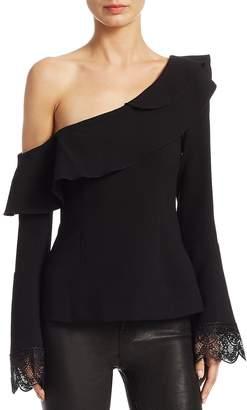 Nicholas Women's Crepe One-Shoulder Top
