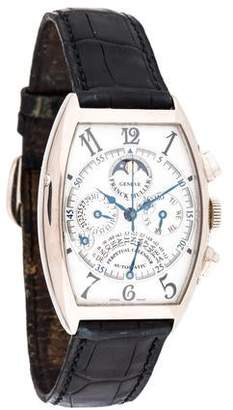 Franck Muller Perpetual Retrograde Chronograph Watch