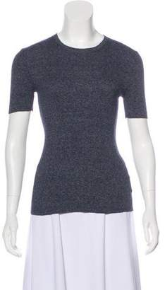 Michael Kors Knit Short Sleeve Top