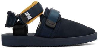 Suicoke Aime Leon Dore Navy Edition Nots-M Sandals