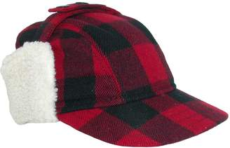 Broner Men s Wool Plaid Outdoor Cap with Sherpa Earflaps caaf9f6cb88a