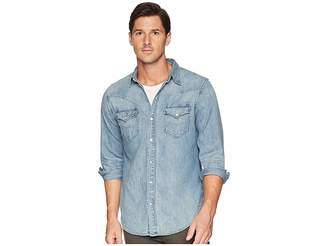 Polo Ralph Lauren Classic Fit Denim Western Sport Shirt