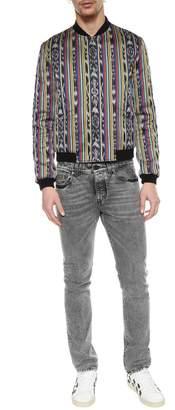 Saint Laurent Embroidery Slim Jeans