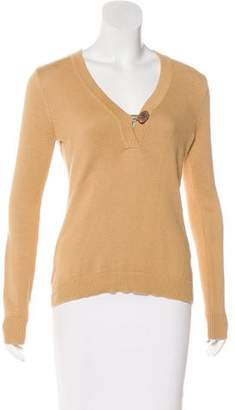 Lauren Ralph Lauren V-Neck Knit Sweater