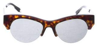 Victoria Beckham Tortoiseshell Cat-Eye Sunglasses