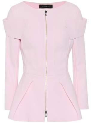 Roland Mouret Fosse wool crêpe jacket