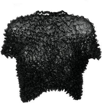 Comme des Garcons PRE-OWNED 1996's ruffle cropped top