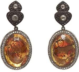 Sevan Biçakci Women's Butterfly Intaglio Drop Earrings