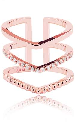 Astrid & Miyu - Mystic Ring in Rose Gold
