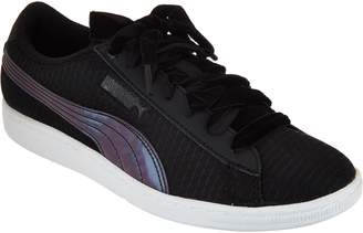 Puma Mesh Sneakers with Velvet Laces - Vikky Swan