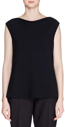 The Row Shella High-Neck Sleeveless Top
