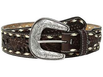 Ariat Floral Pierced with Buckstitch Belt
