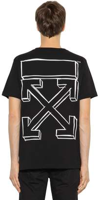 Off-White Off White Marker Arrows Jersey T-Shirt
