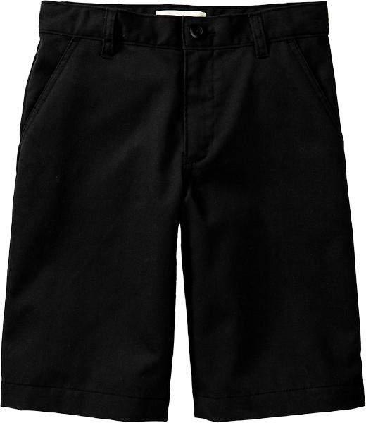 Old Navy Boys Plain-Front Uniform Shorts