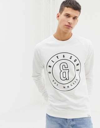 ONLY & SONS Sweatshirt With Chest Branding