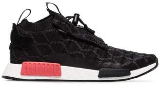 adidas black and pink GTX racer NMD sneakers