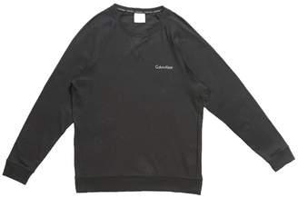 Calvin Klein Underwear Long Sleeved Sweatshirt Black