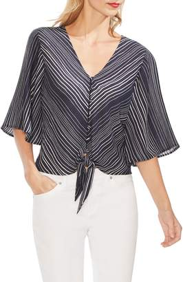 Vince Camuto Delicate Strands Bell Sleeve Blouse