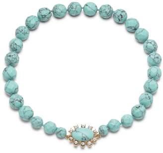 "Carolee Graduated Stone Necklace, 16"""