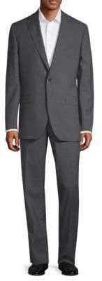 Jack Victor Patterned Wool Suit