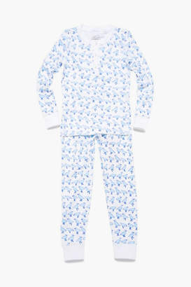Roberta Roller Rabbit Blue Kids Jonathan Pajama Set