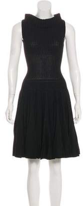 Alaia Sleeveless Fit & Flare Dress