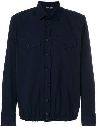 Neil Barrett patch pocket shirt