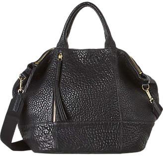 Gerard Darel Only You Pebble Leather Grab Bag, Black