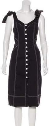 d96a30889b8 Ulla Johnson Denim Dress - ShopStyle