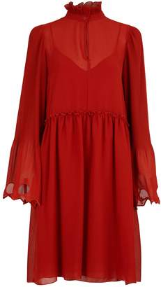 See by Chloe Short dress with ruffles