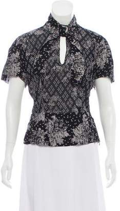 Antonio Marras Printed Short Sleeve Top
