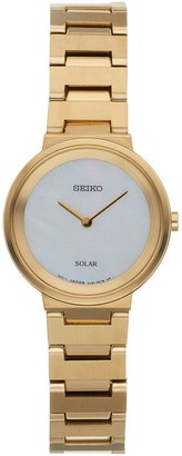 Seiko Women's Stainless Steel Solar Watch - SUP386