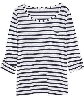 Splendid Venice Striped Slub-Jersey Top