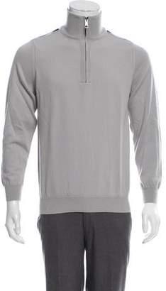 Burberry Nova Check Merino Wool Sweater