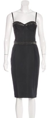 Sass & Bide Embellished Bodycon Dress