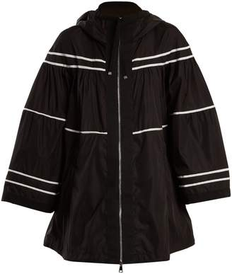 Moncler Lazuli striped raincoat