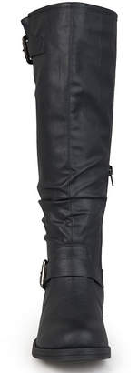 Journee Collection Wide Calf Womens Riding Boots