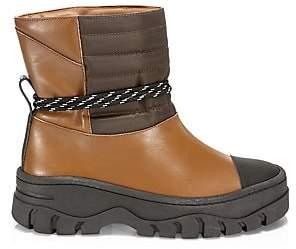 Ganni Women's Biker Lug-Sole Boots