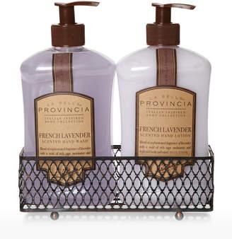 La Bella Provincia Two-Piece French Lavender Hand Wash & Lotion Set