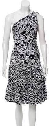Diane von Furstenberg Printed Halter Dress w/ Tags