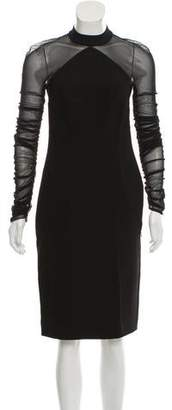 Balenciaga Long Sleeve Midi Dress w/ Tags