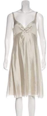 Armani Collezioni Sleeveless Casual Dress