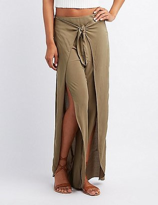Tied Wrap Palazzo Pants $24.99 thestylecure.com