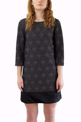 Isle Grey Patterned Dress