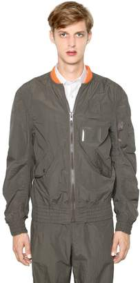 Kolor Light Techno Cotton Bomber Jacket