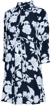 H&M MAMA Shirt Dress - Blue