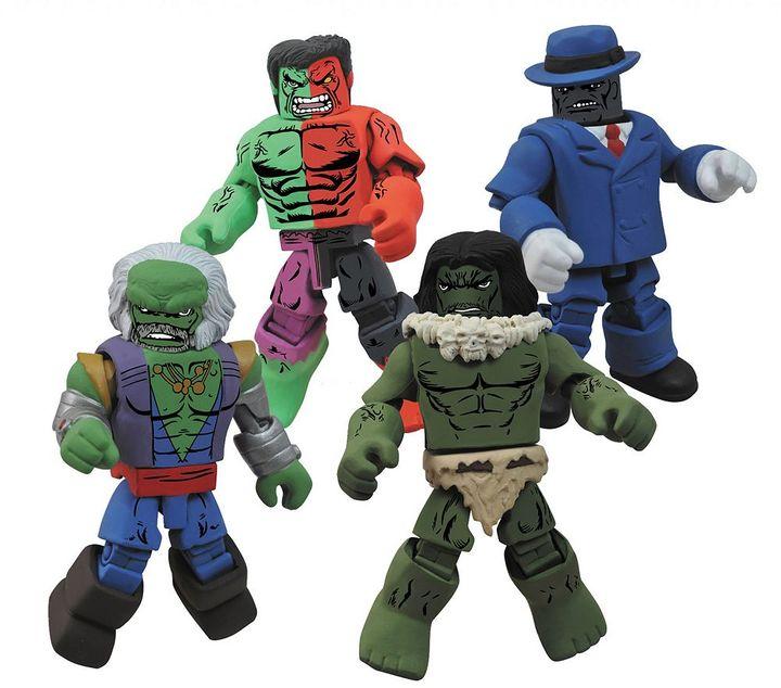 Diamond select toys Marvel Minimates Hulk Through The Ages Box Set by Diamond Select Toys