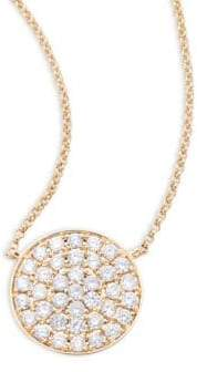 Effy Diamond, 14K Gold and 14K Yellow Gold Necklace