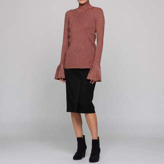 Carven (カルヴェン) - カルヴェン PLEATED KNIT PO KNITS